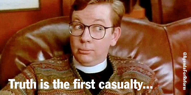 Michael gove as vicar